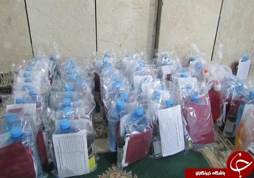 توزیع ۶۰ بسته معیشتی، بهداشتی و فرهنگی در شب میلاد امام حسن (ع)