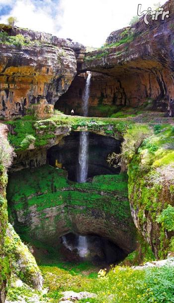 یک غار زیبا و افسانهای در لبنان + تصاویر