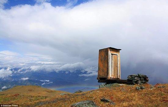 جرأت رفتن به این توالت را دارید؟! + تصاویر