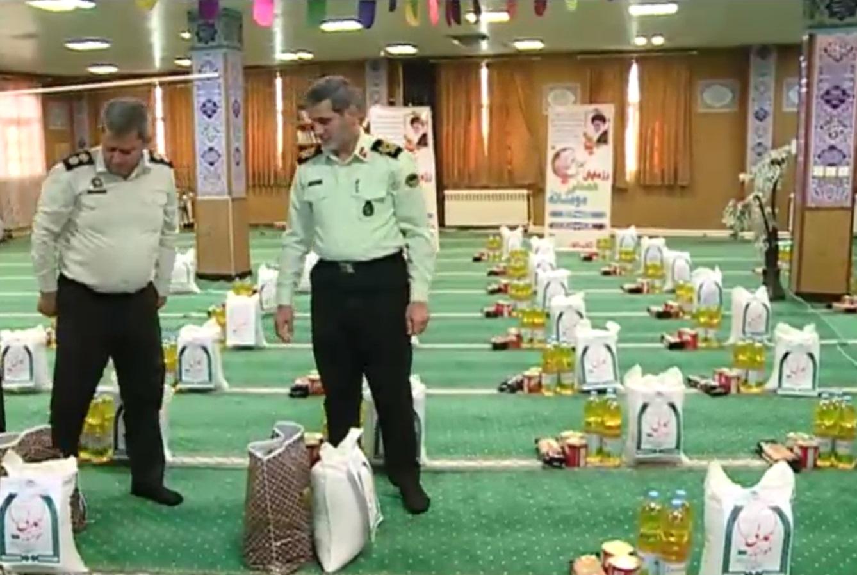 اجرای مرحله دوم رزمایش کمک مومنانه نیروی انتظامی استان مرکزی