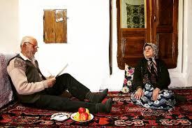 تنهایی بزرگ پدربزرگ و مادربزرگ