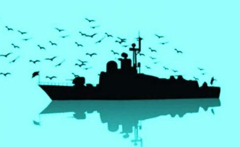تشییع پیکر شهدای نیروی دریایی در محل زادگاه خود
