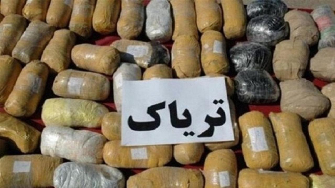 کشف مواد مخدر در میانه