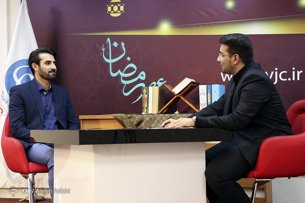 صحبت های قاری قرآن کیک بوکس کار تا گرفتن مدال رنگین تلاوتش
