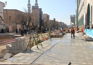 پیاده راه سازی خیابان ارم قم به کجا رسید؟