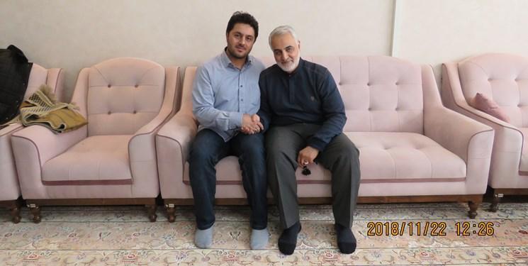 ماجرای خواب عجیب شهید مدافع حرم درباره حاج قاسم + عکس