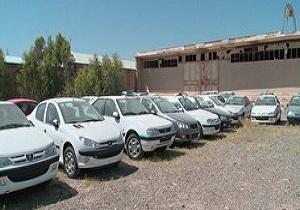 ۶۰ خودروی دپو شده در قم کشف شد