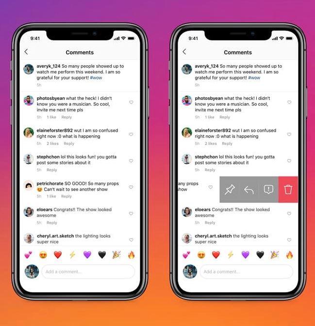 اینستاگرام اولین شبکه اجتماعی با قابلیت پین کردن نظرات