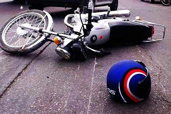 مرگ تلخ دو موتور در جاده شیراز به صدرا