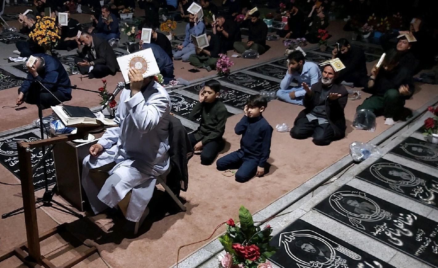 احیای شب ۲۳ ماه مبارک رمضان در گیلان