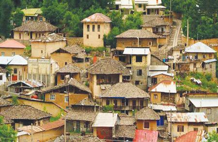 «مالخواست» یکی از روستاهای خوش آب و هوا اطراف ساری