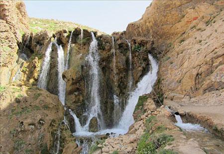 آبشار شیخ علی خان کوهرنگ + تصاویر