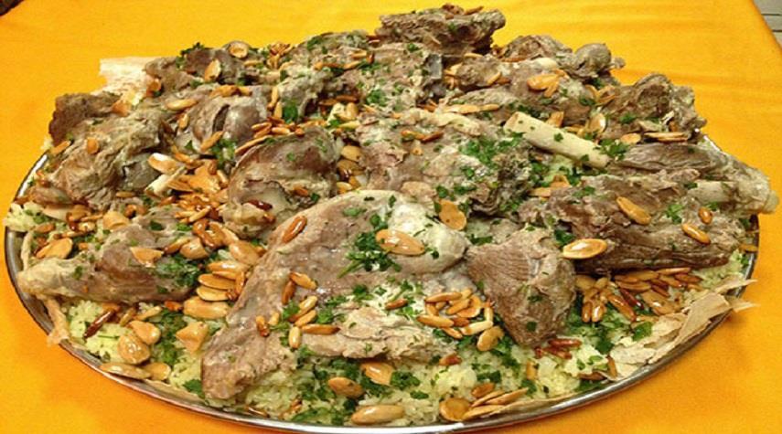 منسف ، غذای خوشمزه اردنی مخصوص ماه مبارک رمضان + طرز تهیه