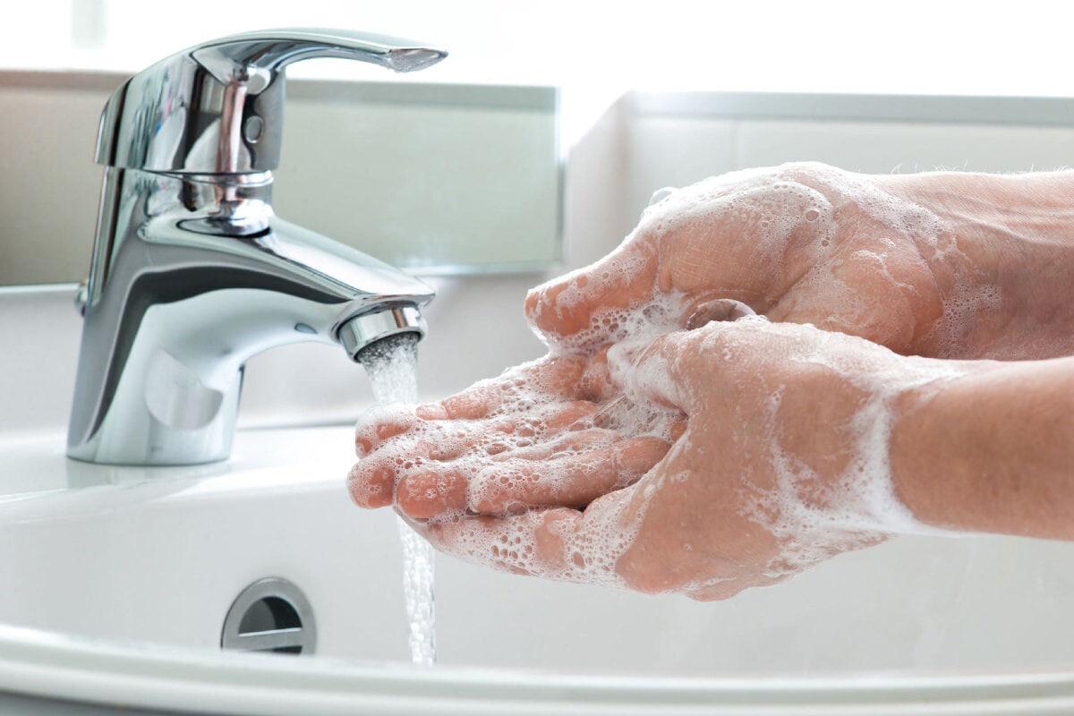 شستن دستها و کرونا