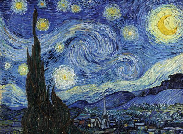 شوخی با نقاشیهای مشهور/ چرا ماسک «ونگوگ» روی صورتش نیست + تصاویر