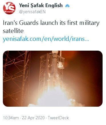 بازتاب پرتاب موفقیتآمیز ماهواره «نور» ایران در رسانههای خارجی