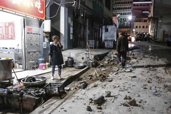 زمینلرزه جنوب غربی چین را لرزاند