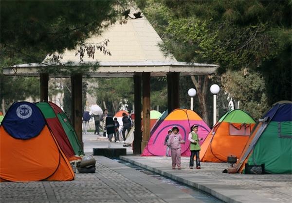 ممنوعیت چادر زدن در پارک و بوستان های همدان