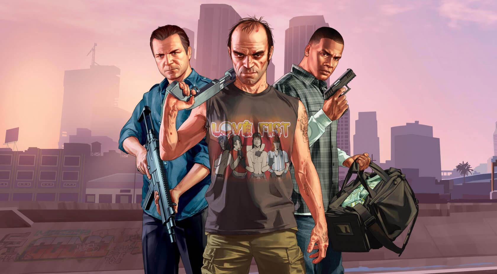 هجوم هکرها به بخش آنلاین بازی GTA V