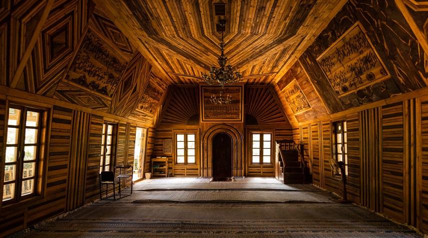 دهکده چوبی نیشابور، اولین مسجد چوبی ایران و جهان در دیار خراسان بزرگ +عکس