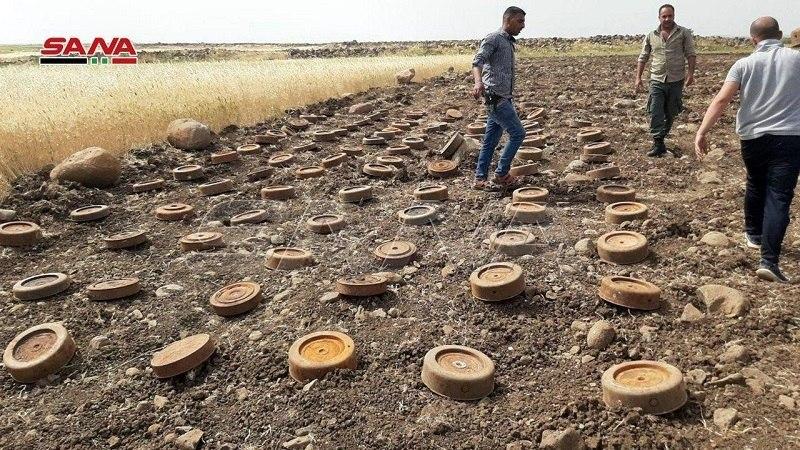 کشف مینهای آمریکایی و اسرائیلی در سوریه 02