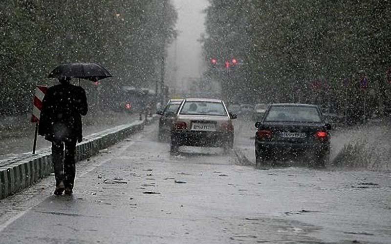 سه شنبه شب ۲۵ میلیمتر باران در تهران آمد
