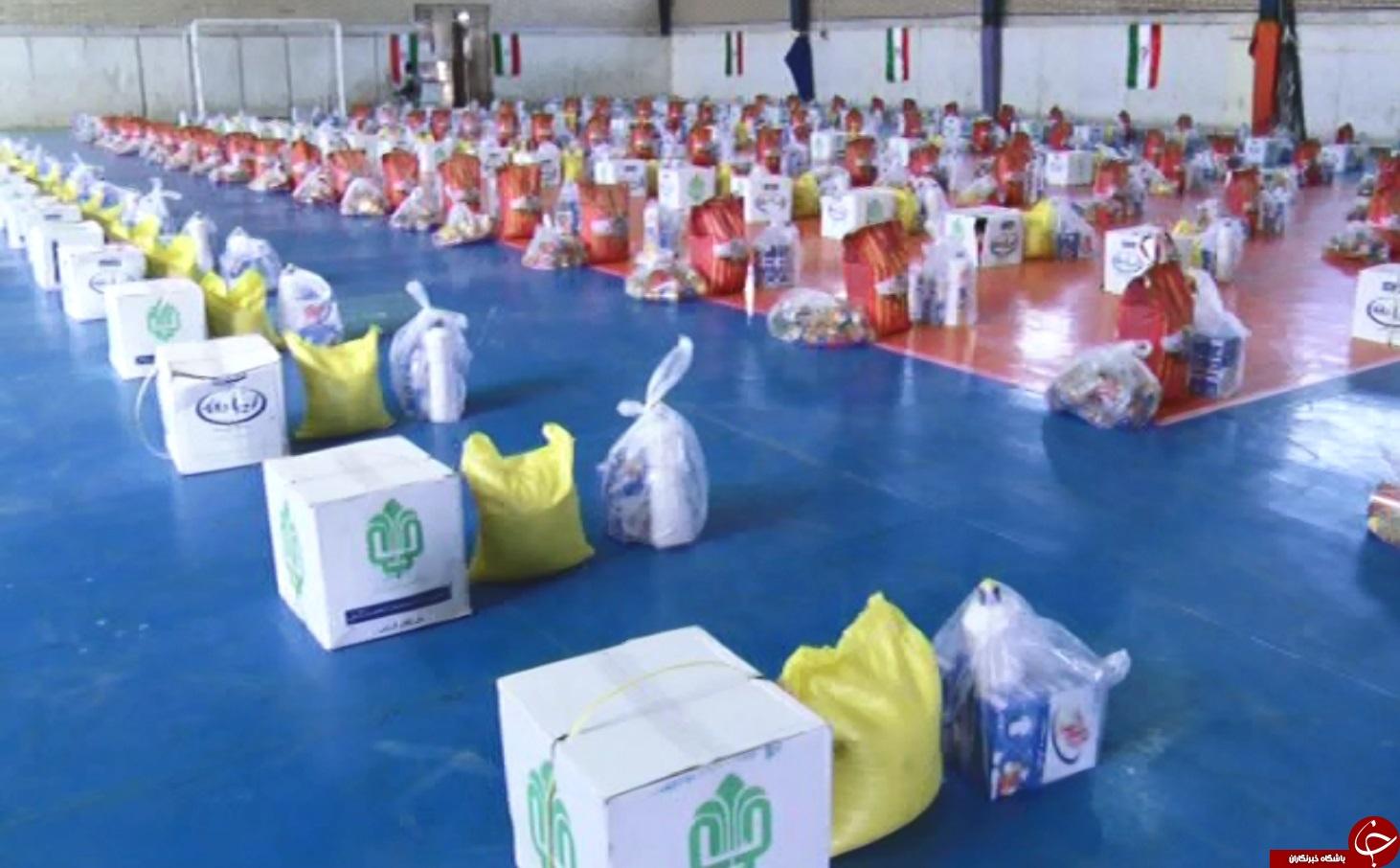 ۷۰۰ بسته حمایتی بین نیازمندان آوه توزیع شد
