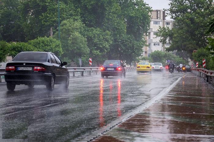متوسط بارندگی در تهران به  ۴۵ میلیمتر رسید