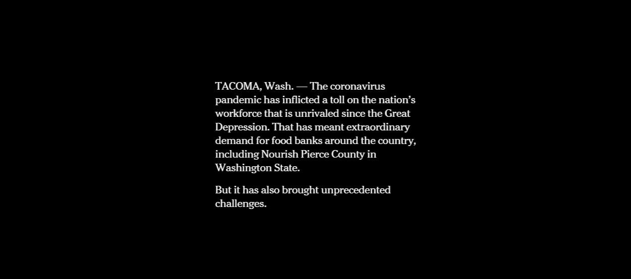 نیویورک تایمز: سونامی بزرگ کمبود مواد غذایی در آمریکا در راه است