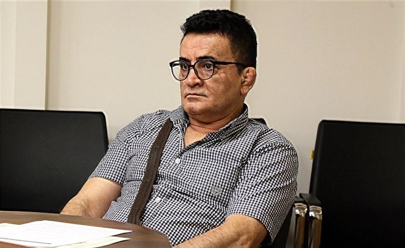 حضور محمد بنا و غلامرضا محمدی در فدراسیون کشتی+ تصاویر