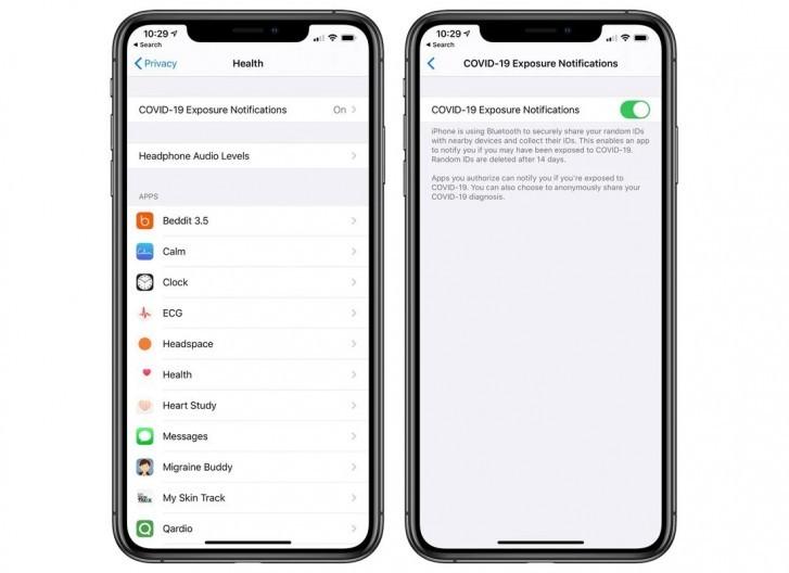 نسخه iOS 13.5 GM سیستمعامل آیفون برای توسعه دهندگان منتشر شد