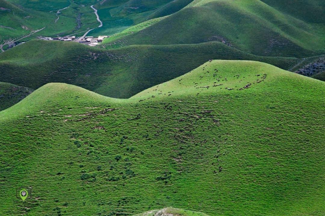 کلات، آبادی و زیستگاهی برفراز کوه