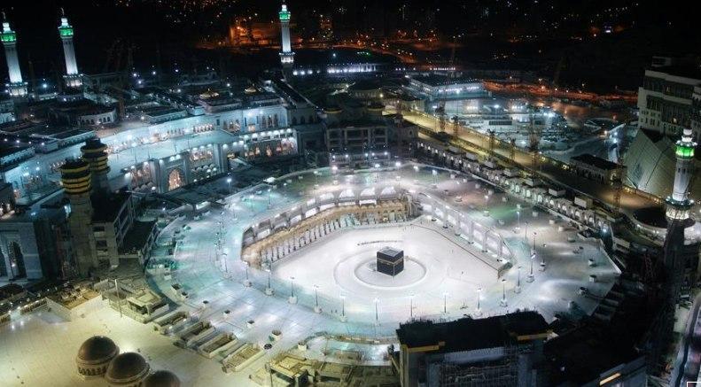 تصاویر هوایی مسجدالحرام در اولین روز از ماه رمضان