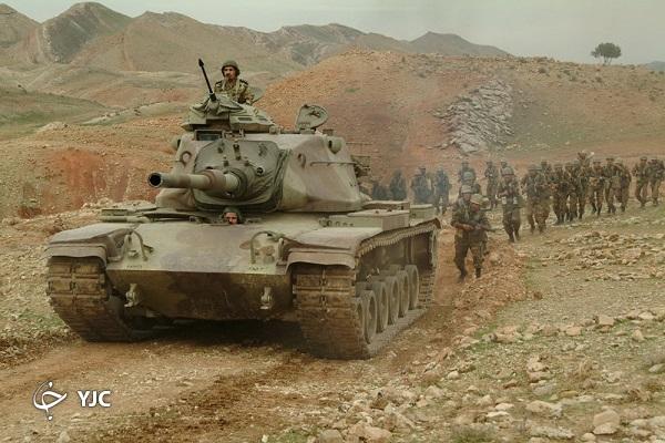 تانکبر کیان؛ بالهای پرواز تانکهای ارتش در مصاف با دشمنان + تصاویر