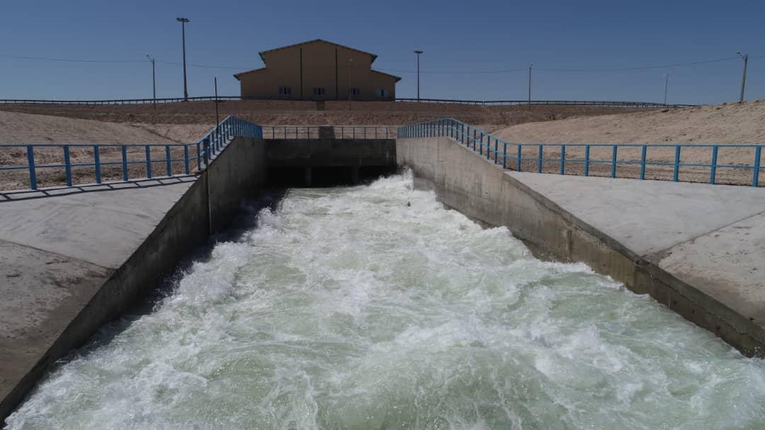طرحهای مدیریت یکپارچه منابع آب سیستان افتتاح شد