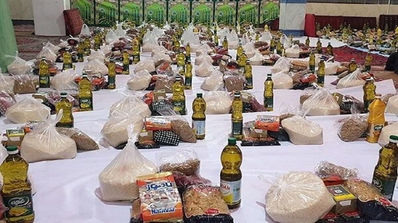 توزیع ۹۶ هزار بسته معیشتی بین آسیب دیدگان از کرونا