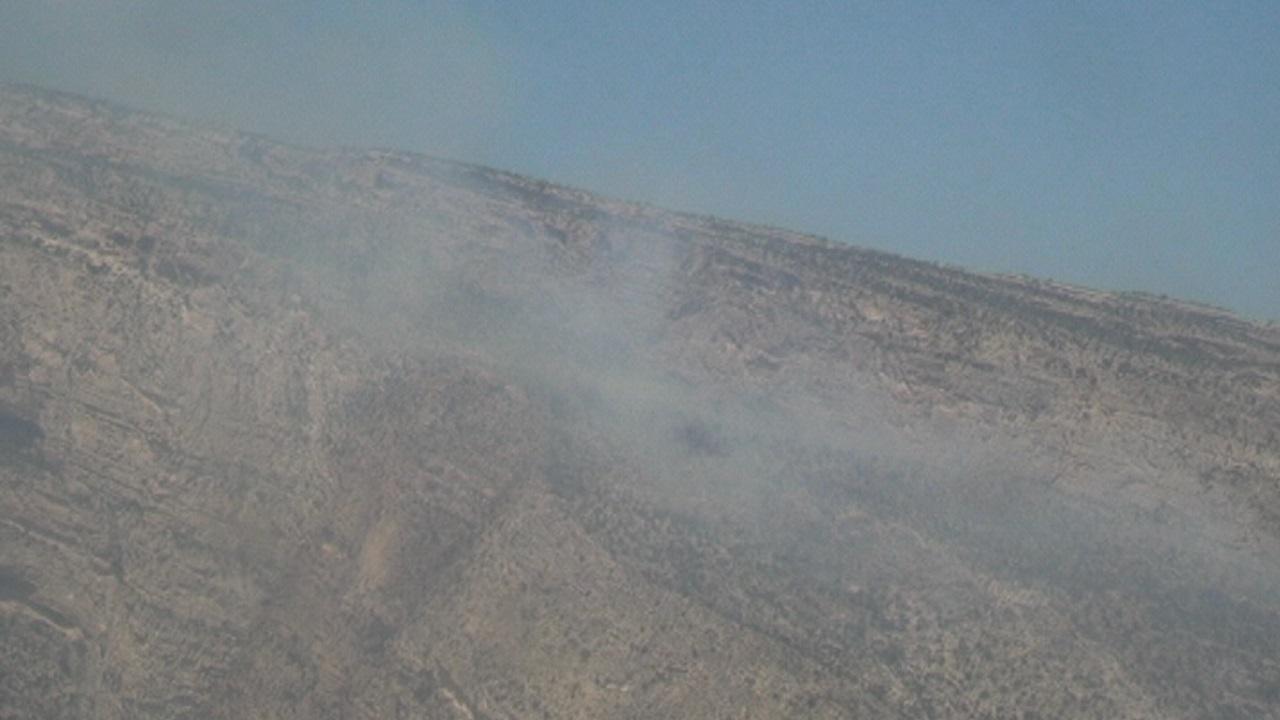 آتش در کوهستان
