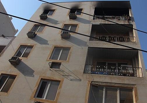 اتصالی برق، منزل مسکونی را به آتش کشید/ استنشاق دود جان پدر خانواده را گرفت+ عکس