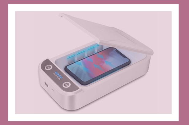 شارژ هوشمندی که گوشی را ضد عفونی میکند