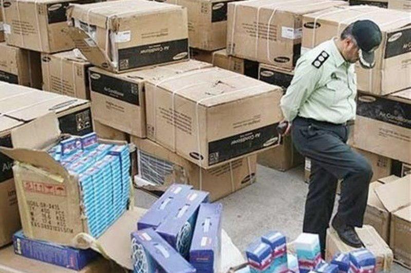 کشف  ۵۵ میلیارد ریال کالای قاچاق در شهرستان بهار