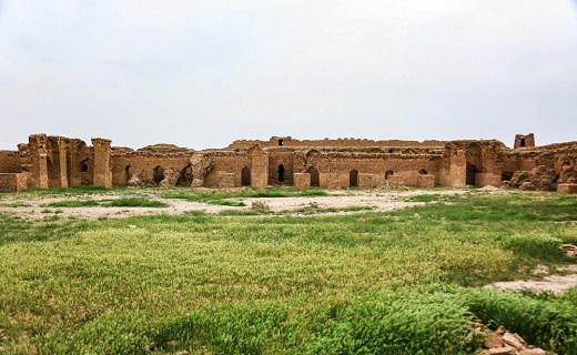 حال کاروانسرای تاریخی محمدآباد قم خوب نیست+تصاویر