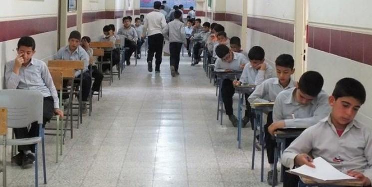 ضد عفونی حوزه آزمونهای امتحانات نهایی قبل و بعد از هر امتحان