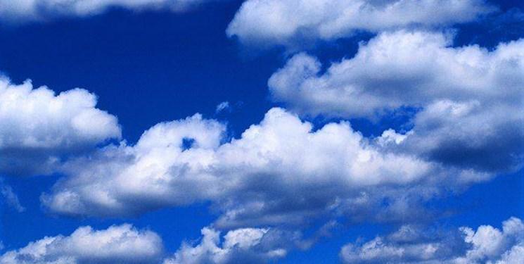 افزایش ابر و وزش باد در استان همدان