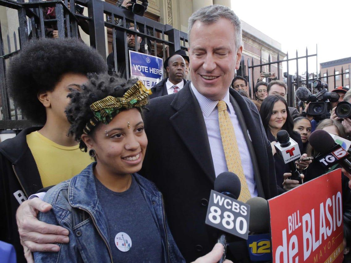 بازداشت دختر شهردار نیویورک در اعتراضات ضد نژادپرستی+عکس