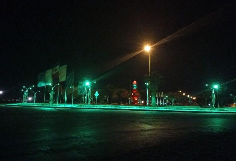 تامین روشنایی در میدان هفت تیر توسط شهرداری مهران