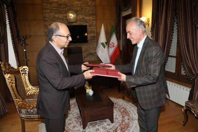 امضاء تفاهم نامه تامین اراضی جهت توسعه محدوده مناطق روستایی ارس
