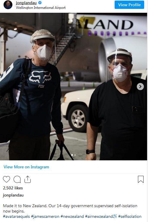 سازندگان «آواتار» برای ادامه فیلمبرداری به نیوزیلند رفتند