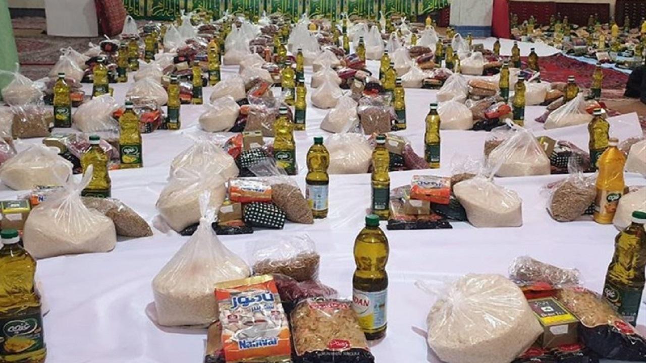 توزیع یکهزار سبد غذایی بین نیازمندان لردگان