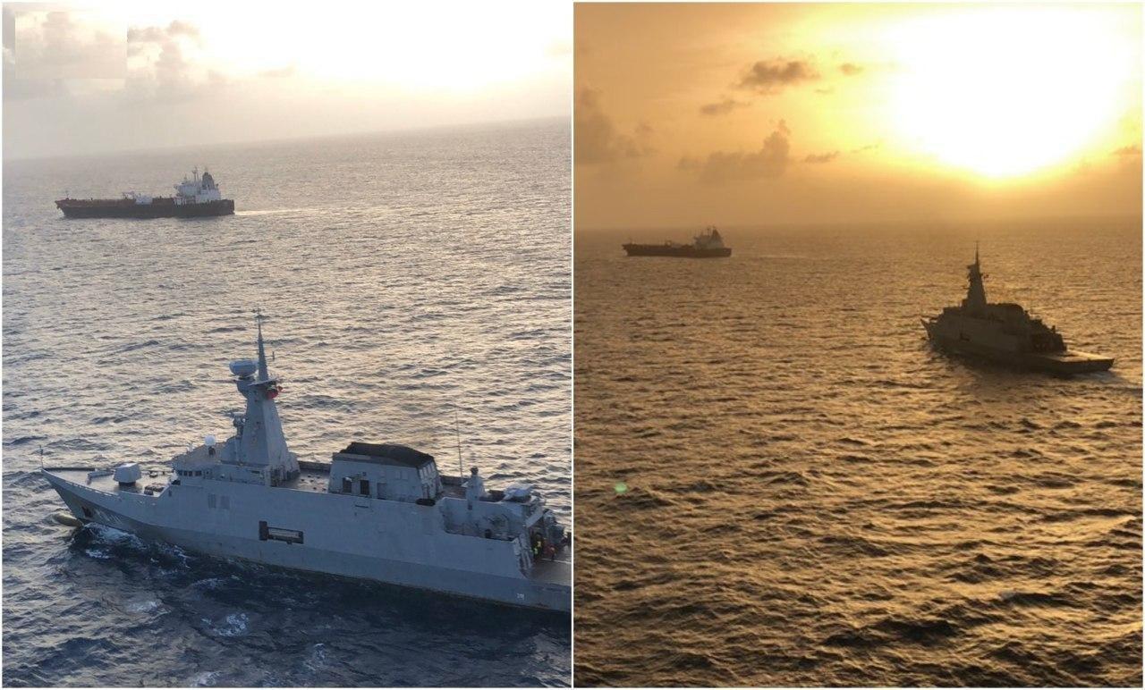 اسکورت پنجمین نفتکش ایرانی توسط نیروی دریایی ونزوئلا