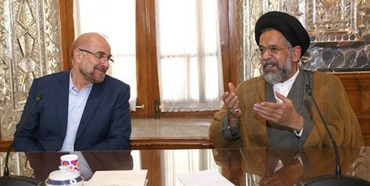 وزیر اطلاعات با محمدباقر قالیباف دیدار کرد